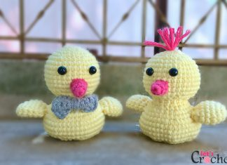 FREE Adorable Baby Amigurumi Chick Crochet Pattern main