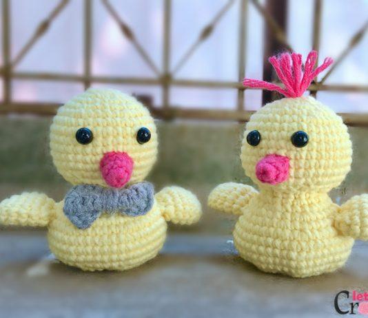 FREE Adorable Baby Amigurumi Chick Crochet Pattern main