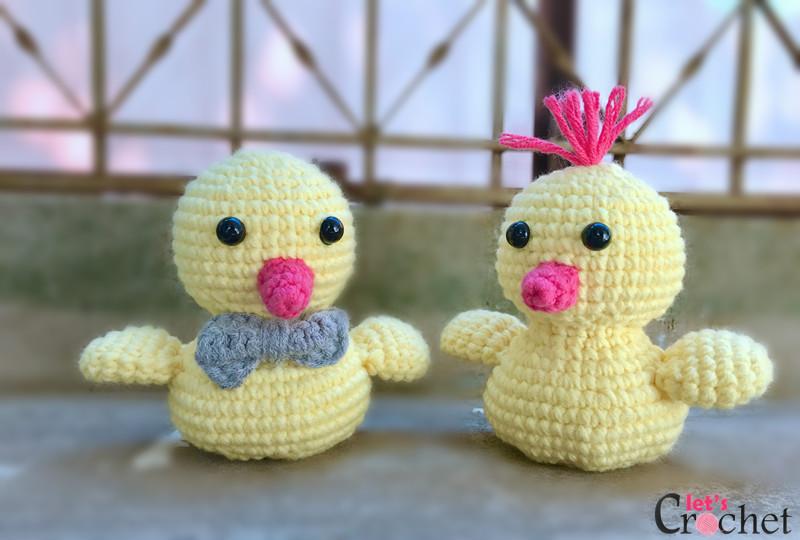 FREE Adorable Baby Amigurumi Chick Crochet Pattern