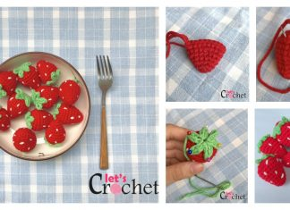 Adorable Amigurumi Strawberry Free Crochet Pattern