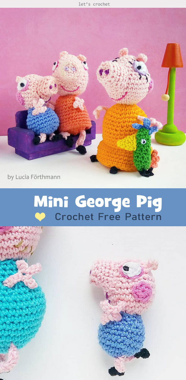 Free Crochet Patterns – Yr Of The Pig – Crochet – DIY Decors | 1221x600