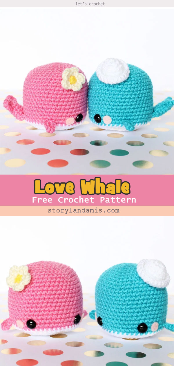 BABY HUMPBACK WHALE FREE CROCHET PATTERN