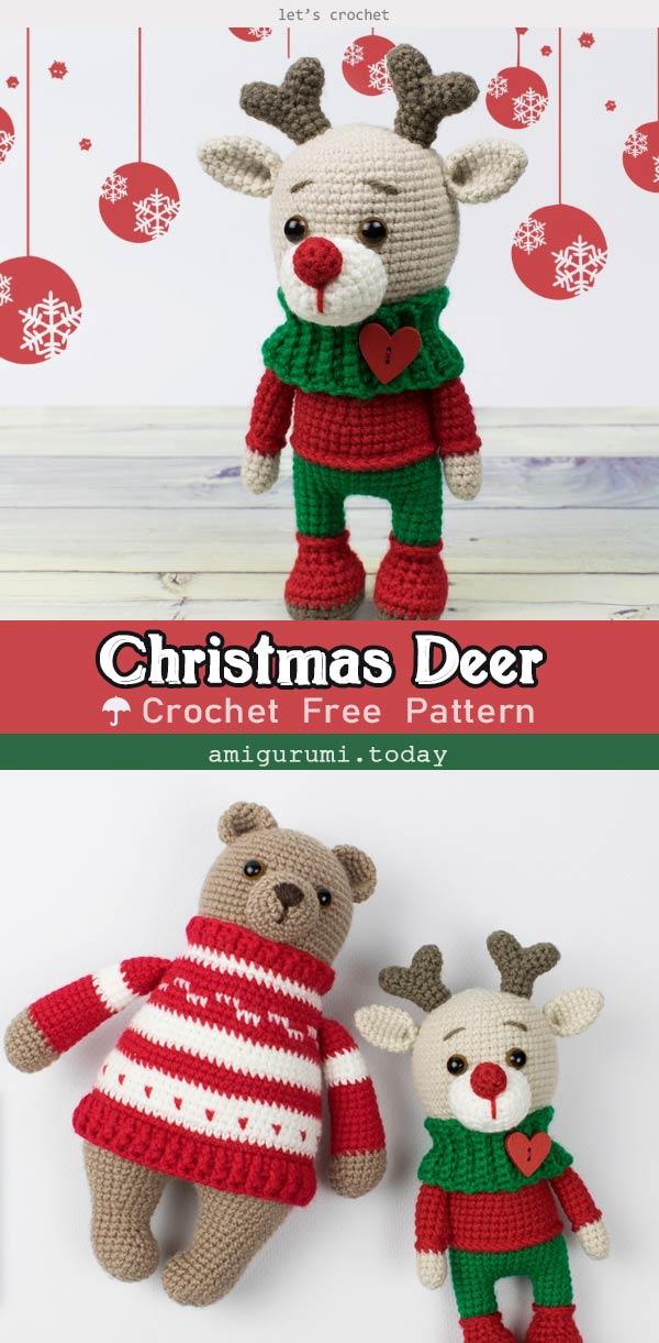 Deer Amigurumi Free Crochet Pattern