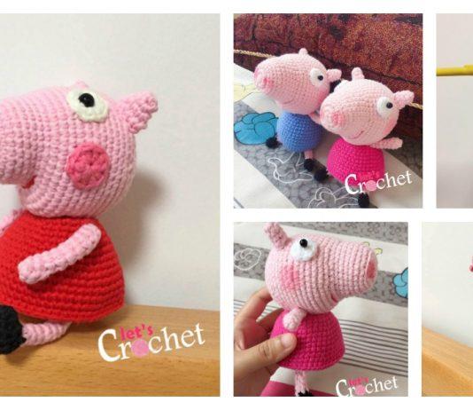 Amigurumi Peppa Pig Free Crochet Pattern