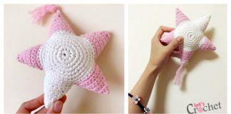 Amigurumi Star Free Crochet Pattern