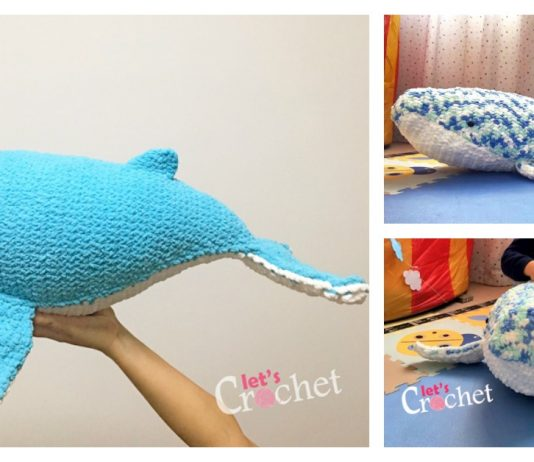 Baby Humpback Whale Free Crochet Pattern