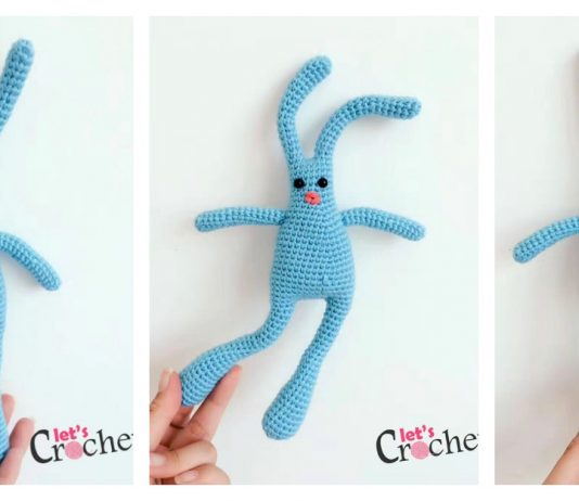 Linguine Bunnybuns from Outer Space Free Crochet Pattern