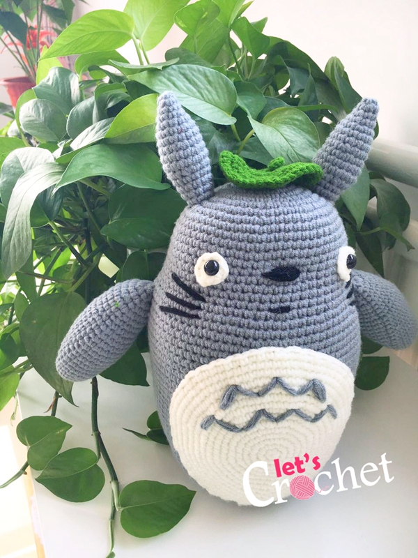 Totoro Amigurumi Free Crochet Pattern