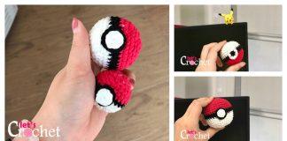 Pokemon Pokeball Free Crochet Pattern