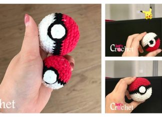 Pokemon Pokeball Free Crochet Pattern