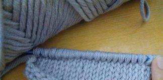 how to crochet Tunisian Knit Stitch (TKS)