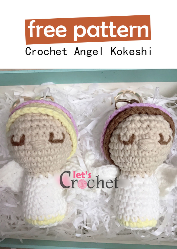 Ravelry: Amigurumi Kokeshi Doll pattern by Tamica Passionfyre | 842x600