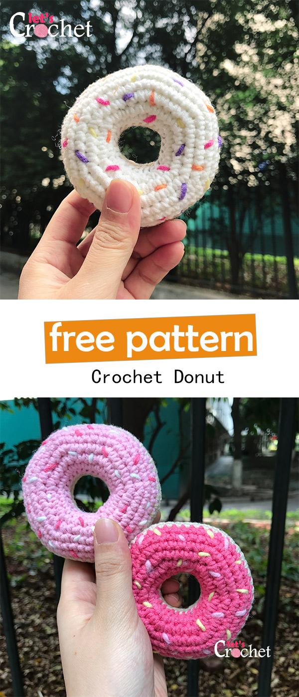 dount free crochet pattern