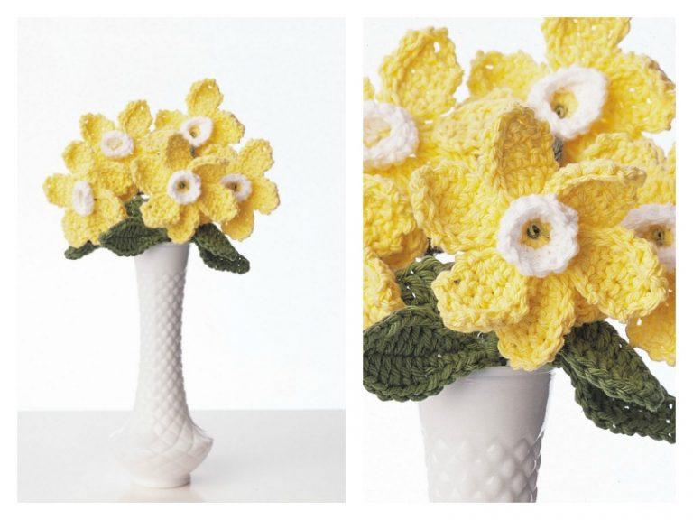 Daffodil Bouquet Free Crochet Pattern