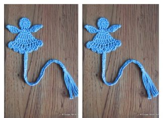 Little Angel Bookmark Free Crochet Pattern