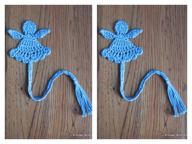 Little Angel Bookmark Free Crochet Pattern