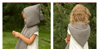 The Elwood Hooded Scarf Crochet Pattern