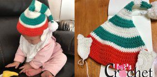 elf hat free crochet pattern