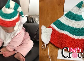 elf hat free crochet pattern