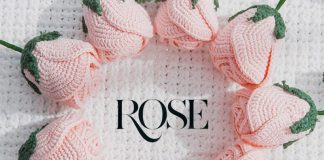 A Easy Rose Free Crochet Pattern