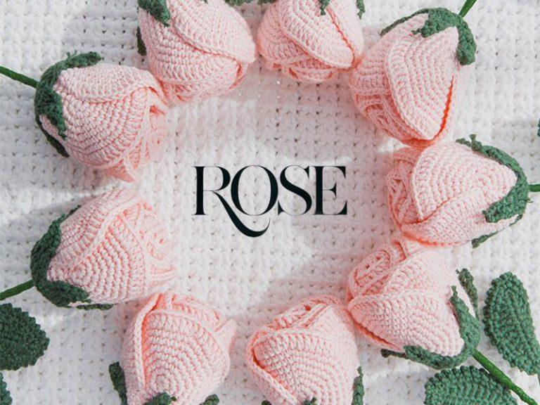 Easy Crochet Rose Free Pattern