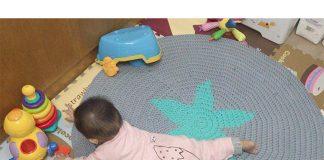 star carpet crochet free pattern