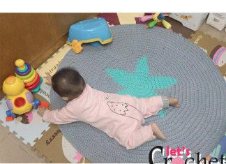 star carpet crochet free pattern