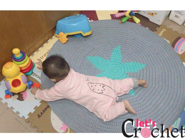 Star Carpet Free Crochet Pattern