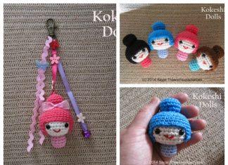 Amigurumi Kokeshi Dolls Free Crochet Pattern