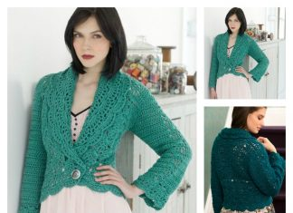 Filigree Cardigan Free Crochet Pattern