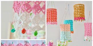 Pretty Lantern Free Crochet Pattern