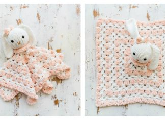 Snuggle Bunny Baby Lovey Free Crochet Pattern