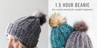 Crochet Free Hat Pattern For Beginners