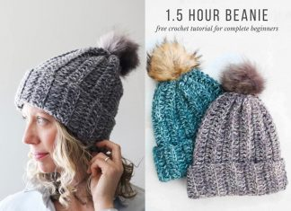 Crochet Free Hat Pattern For Beginners