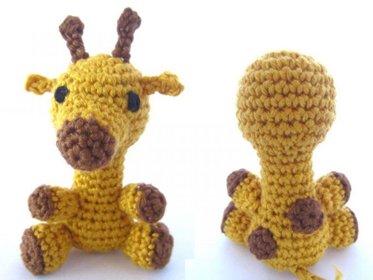 Amigurumi Giraffe free crochet pattern