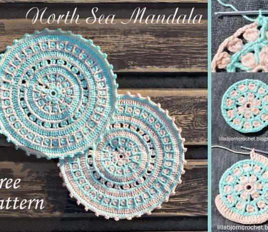 North Sea Mandala Crochet Free Pattern