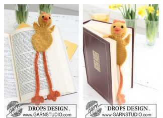 Chicken Bookmark Free Crochet Pattern