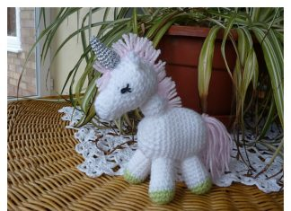 Little Unicorn Amigurumi Free Crochet Pattern