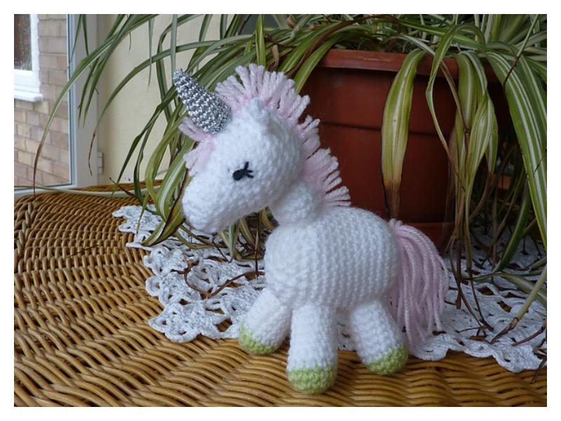 Comet the Unicorn Comet the Unicorn crochet pattern   600x800