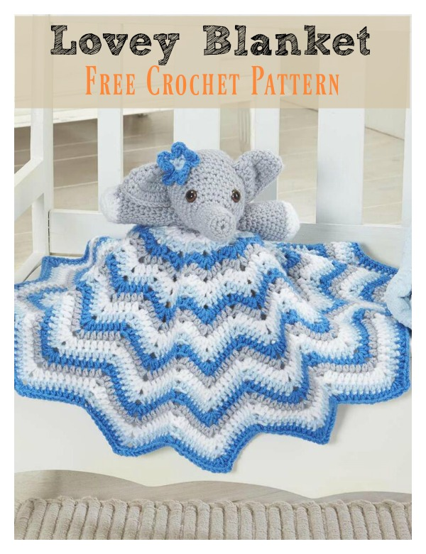 Lovely Elephant Blanket Free Crochet Pattern