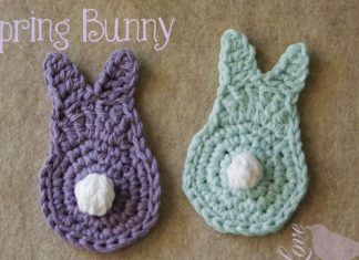 A Easy Spring Bunny Free Crochet Pattern