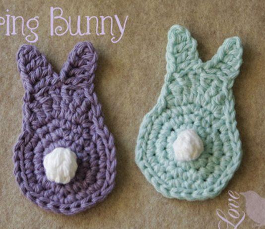 A Easy Spring Bunny Free Crochet Pattern