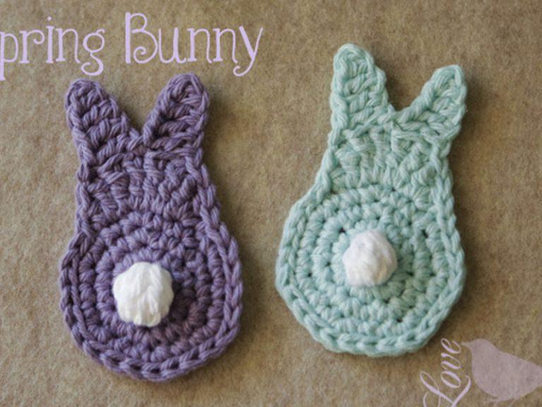 Easy Spring Bunny Free Crochet Pattern