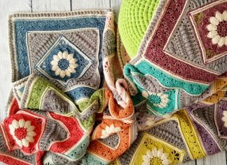 Charlotte's Dream Blanket Crochet Free Pattern