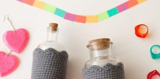 Bottle Cozies Free Crochet Pattern