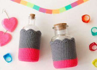 Bottle Cozies Free Crochet Pattern