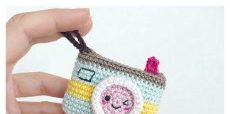 Camera Keychain Free Crochet Pattern