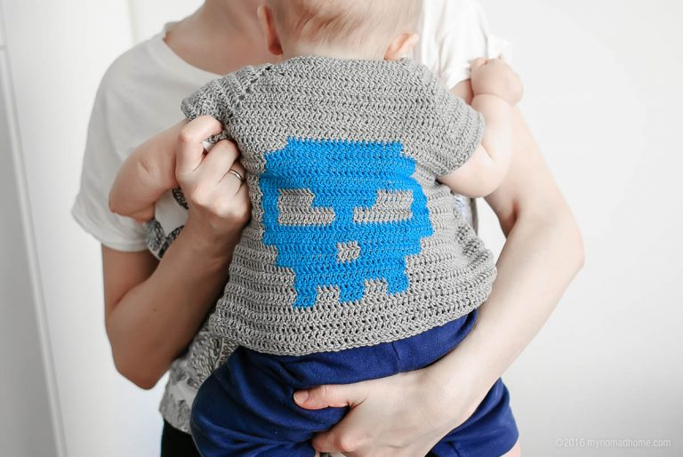 Badass Baby Cardigan Clothing Crochet Free Pattern