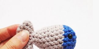 Simple Fish Toy Crochet Free Pattern