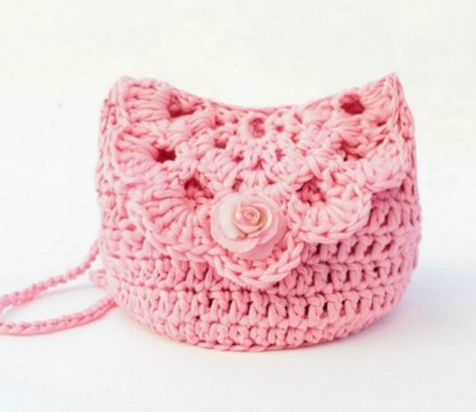 Crochet Kid's Easy Bag Free Pattern
